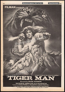 TIGER-MAN-Original-1983-Trade-AD-promo-poster-SABRINA-SIANI-FRANCO-PROSPERI