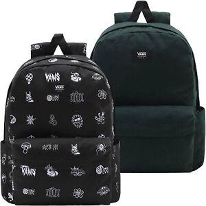 Vans Unisex Old Skool H2O  School Rucksack Backpack - Black