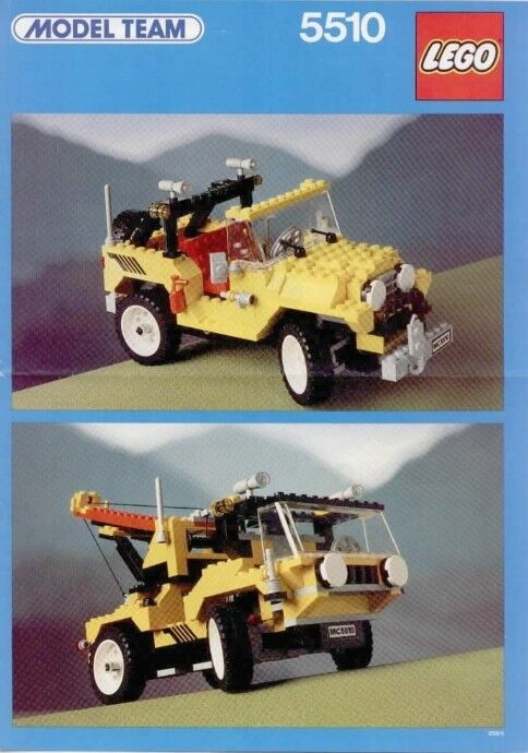 Lego Team Model 5510 Off-Road 4x4 NEW SEALED 1986' HTF