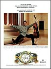 1999 Rolex Date Swiss Chronometer Watch cellist Yo-Yo Ma photo print ad ads16