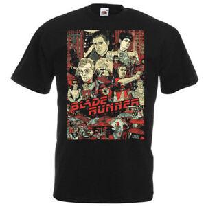 Blade Runner v16 T shirt black movie poster all sizes S-5XL