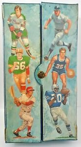 Vintage-1970s-SEARS-All-Stars-Sports-Trading-Cards-Case-NFL-MLB-NBA-NHL