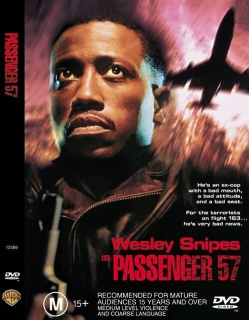 Passenger 57 - DVD - FREE POST