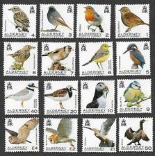 Alderney-Birds complete set mnh  new issue 21.1.2020