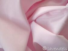 Stoff Ökotex Baumwolle ♥ rosa babyrosa uni Popelin 155 cm breit