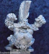 1994 Dwarf Bloodbowl 3rd Edition Star Player Grim Ironjaw Citadel Grudgebearers