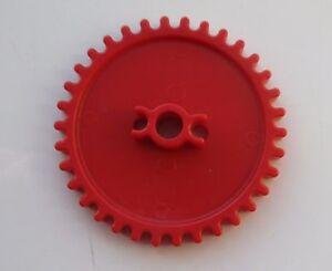K'NEX Gear Medium Red  - 2 Pieces- KNEX SPARES , PARTS &  GEARS