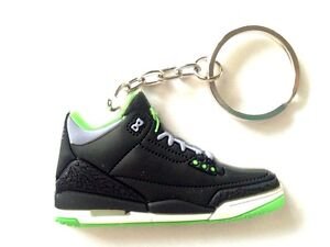 6af9e10fcd6b AIR JORDAN III 3 RETRO CEMENT JOKER GREEN BLACK OG SNEAKERS SHOES ...