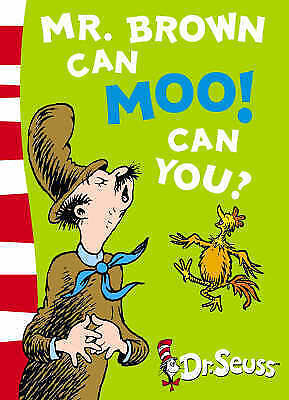 1 of 1 - Mr.Brown Can Moo! Can You? by Dr. Seuss NEW (Paperback) Book