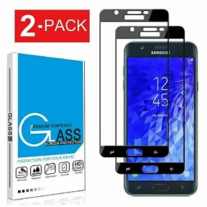 For-Samsung-Galaxy-J7-2018-Crown-Star-FULL-COVER-Tempered-Glass-Screen-Protector