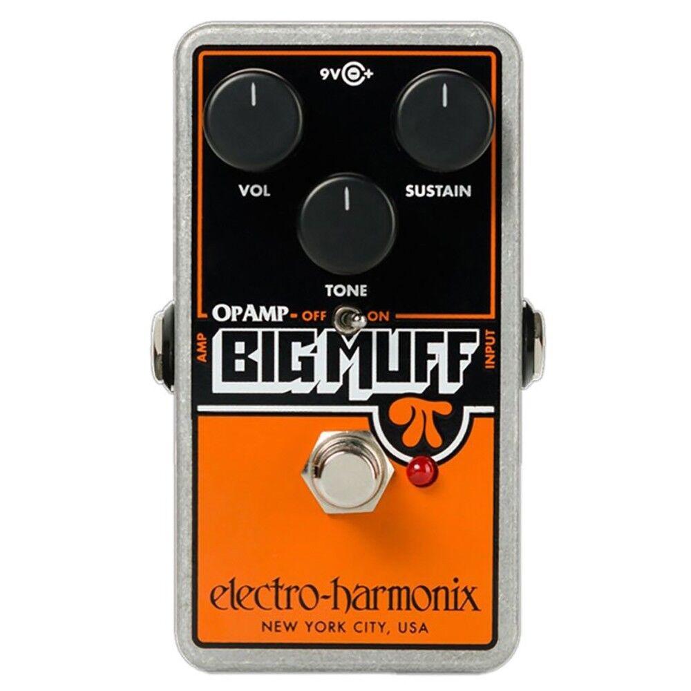 Electro-Harmonix EHX Op-amp Big Muff Pi Distortion Sustainer Guitar Pedal
