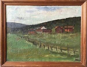 Pmh-Landscape-IN-Scandinavia-Sweden-Norway-Monogrammed-1967