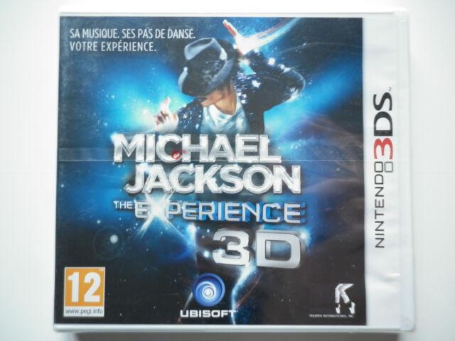 Michael Jackson The Experience 3D Jeu Vidéo Nintendo 3DS