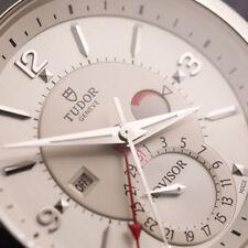 Tudor Heritage Advisor Stainless Steel Alarm Men's Watch M79620T-0001