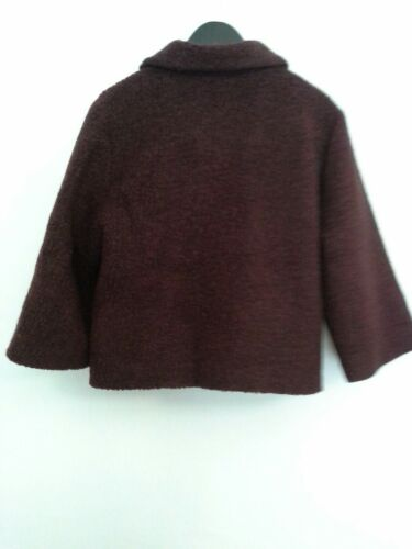 Størrelse Jacket 275 Kind Anthropologie 14 In Maroon Raoul Swing Af For Boucle Made vxH6q1E