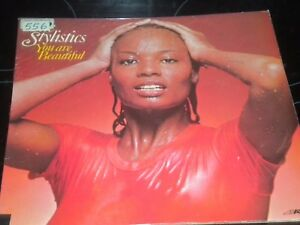 The-Stylistics-TU-ES-BELLE-VINYL-RECORD-LP-Album-9109006-1975