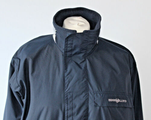 Henri Lined Lloyd Blue Fleece Piccola Jacket Sailing Taglia Unisex Navy Yachting AXA4xrqH