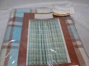 Image Is Loading Newport Wellington Blue Beige Plaid Shower Curtain