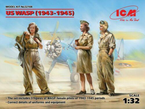 ICM 32108 US WASP Figuren in 1:32 1943-1945