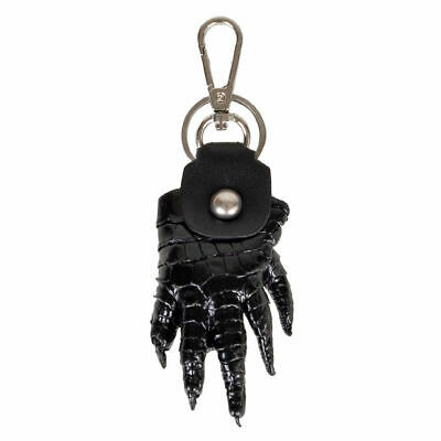 Men woman  Keyring Keychain Genuine Crocodile Leg Leather New Collection CITES