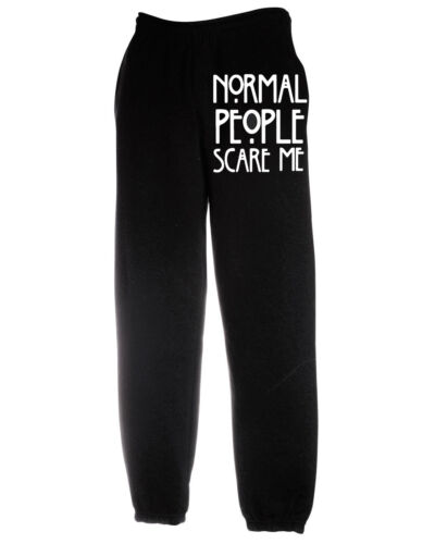normale, Jogger La gente normale mi spaventa American horror Maglione Felpa inferiore