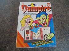 Juego portátil LCD Vampiro Bandai 1982 en Caja 100% completo trabajo Raro Retro