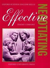 Effective Negotiating: Student's Book (Oxford Business English Skills)-ExLibrary