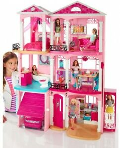Barbie-DreamHouse-Playset-With-70-Accessory-Pieces-Toy-Kids-Gift-Best-Play-Doll