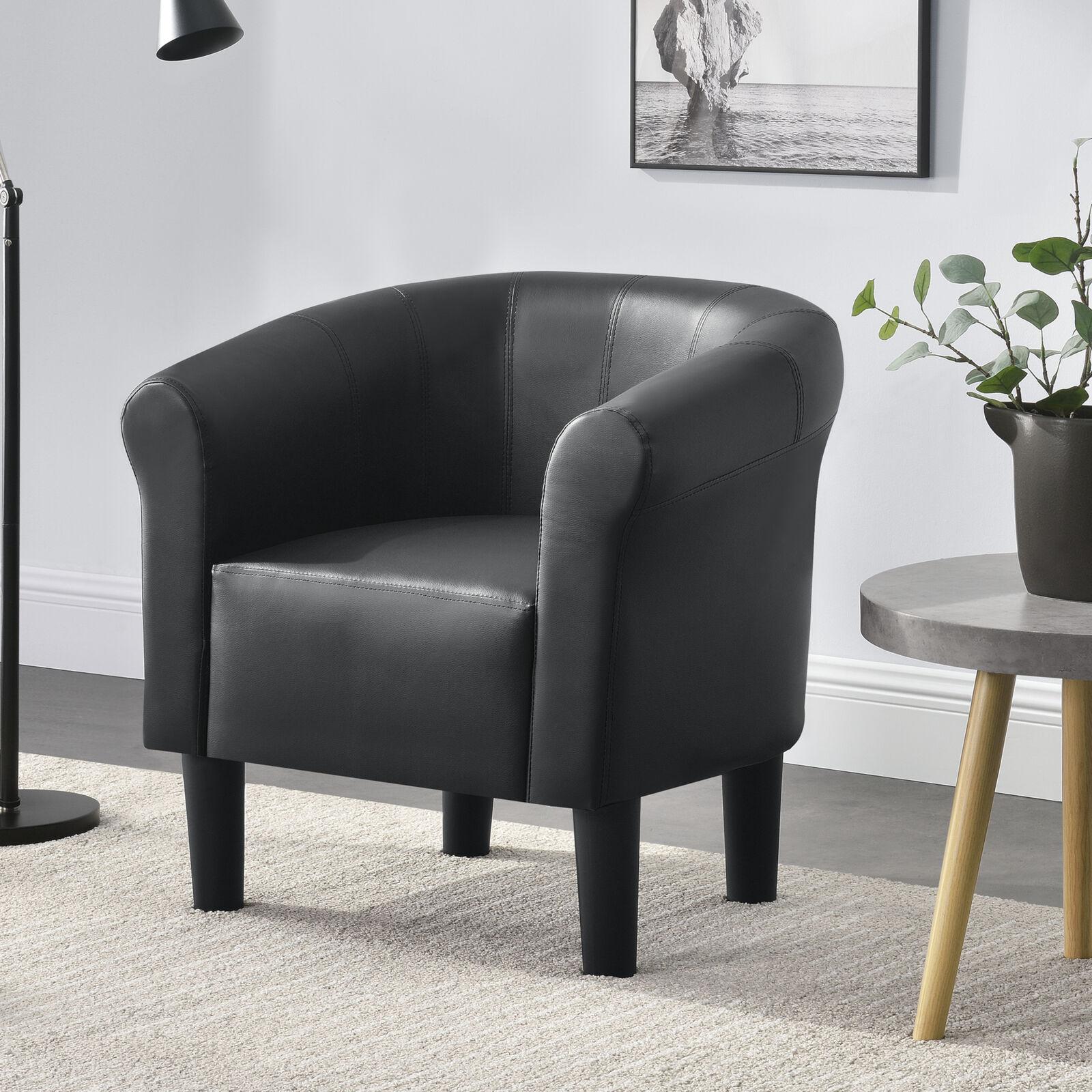 [en. casa] sillón negro club sillón Lounge sillón cóctel sillón sillón