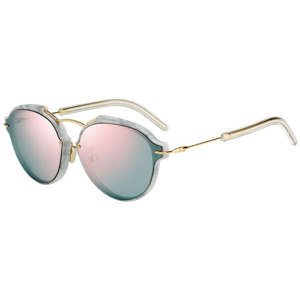 ☆ Ex Display - Authentic Dior Eclat GBZ 0J Gold / Marble Sunglasses RRP ☆