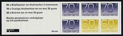 Netherlands & Colonies Buy Cheap Netherlands 791a Booklet Pb44a Mnh Numeral Professional Design