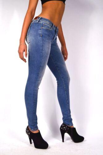 24//25//26 Pepe Jeans LOLA GE1 Hellblau Super Slim Skinny Fit Jeans Knack Po Gr