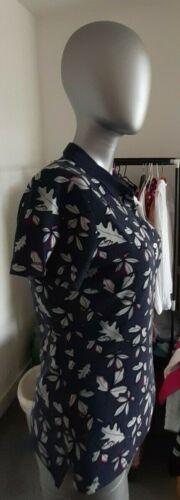 Tommy Hilfiger BELLE Floral Polo Pour Femmes 2 Tailles RRP 70 GBP petites