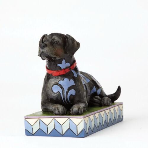 JIM SHORE 4056956 Enesco Animals sculpture chien figurine NOIR LABRADOR