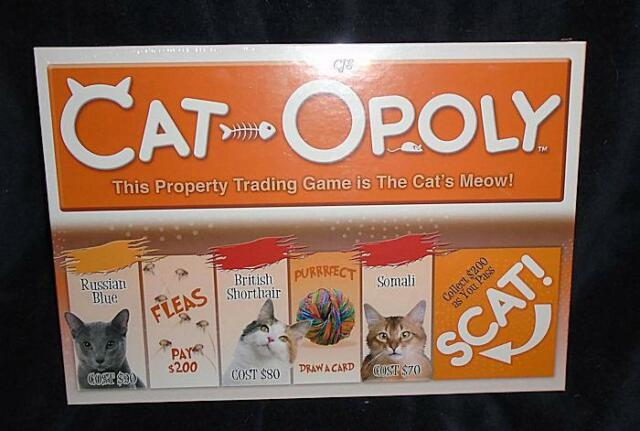 Cat-opoly Monopoly Cats Board Game by Late for The Sky Factory