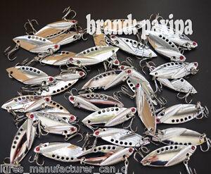 Lot-Metal-VIB-Spoon-Fishing-Lures-Bass-Bait-5cm-1-97inch-11g