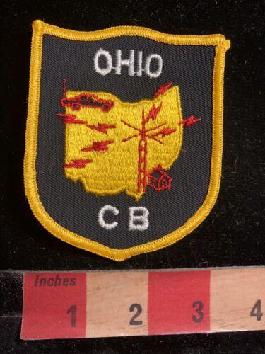 Vintage STATE OF OHIO CB Radio Patch 97MP