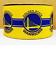"Gros-grain Golden State Warriors Basketball Ruban 4 cheveux arcs bricolage Artisanat 7//8/"" 1/"""