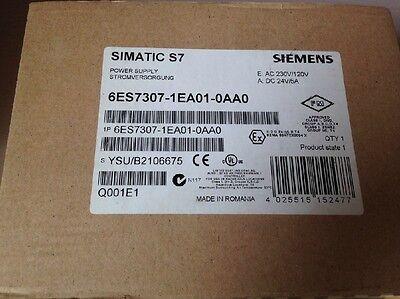 Siemens Power Supply 6ES7 307-1EA01-0AA0 6ES7307-1EA01-0AA0 New in Box Free Ship