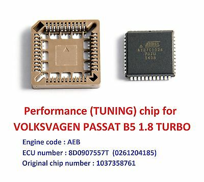 Performance chip for VW PASSAT B5 1.8T AEB turbo engine. Chip tuning / Remap !