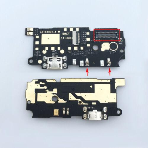 Puerto De Carga USB Cable Flexible Micrófono Board para Xiaomi Redmi Note 4 CONECTOR ANCHO