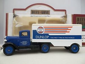 Lledo-Days-Gone-Dunlop-DG-67000a-1935-Ford-3-ton-Articulated-Truck