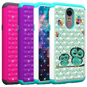 new style 6a948 12b37 Details about For LG Stylo 5 / Stylo 4 Plus Case Bling Diamond Hybrid  Shockproof Phone Cover