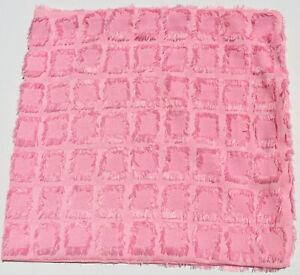 2x funda de almohada referencia sofá deco sofá sofá cojines pelusa Karo rosa pink
