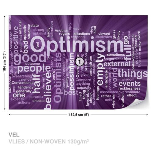 Non-woven wallpaper design photo Wallpaper Abstract Quotes /& Sayings Words optimism