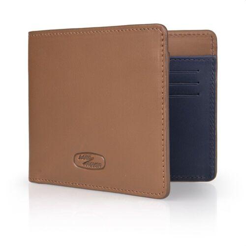 Land Rover Genuine Merchandise Heritage Brown Leather Wallet 51LFLG357BNA