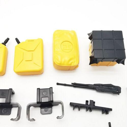 Rc Car Body Shell Scale Accessories For Tamiya XV01 CC01 Unimog Rover Blackfoot