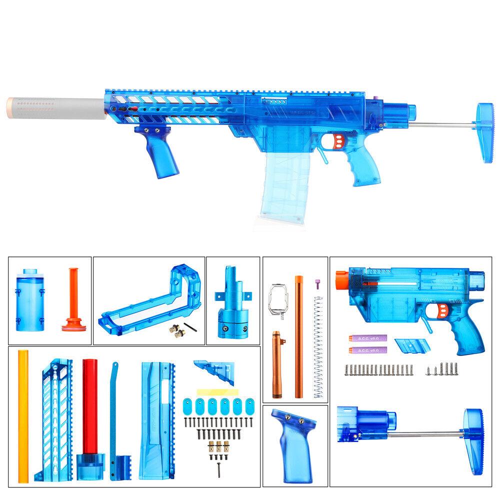 Trabajador Mod Profecía-R Hágalo usted mismo Imitación MCX Stefan kits de alimentación para modificar Nerf Juguete B