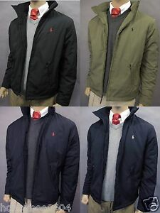 185 NWT POLO RALPH LAUREN MENS JACKET PONY PERRY LINED COAT Size ... a26ff26a14c