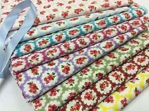 100-Cotton-Fabric-Pretty-Floral